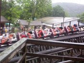 Twister's Double Helix - Knoebels - Roller Coaster