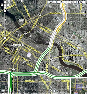 Interstate 35 I35 Minneapolis Google Maps