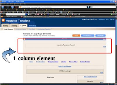 page element