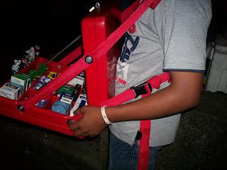 Resultado de imagen para vendedor ambulante con chaza