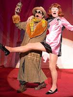 Sir Ian with Frances Barber