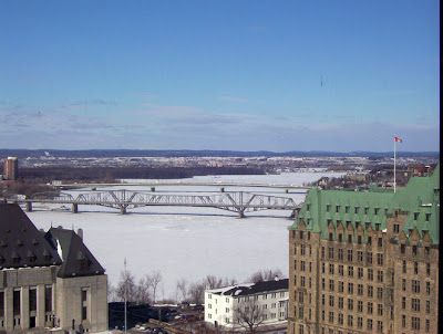 The Alexandra Bridge and the Interprovincial Bridge