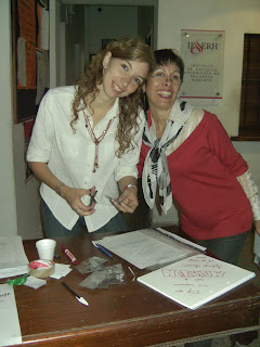 Silvia Clement en la muestra