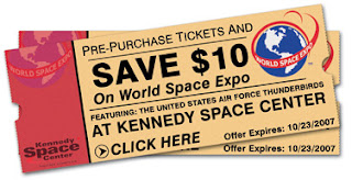 World Space Expo ticket button
