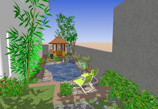 chelbr™′s Sketchup Projects: Backyard Landscaping on Sketchup Backyard id=21926