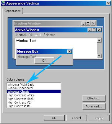 Windows Vista Settings