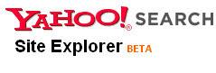 yahoo site explorer beta