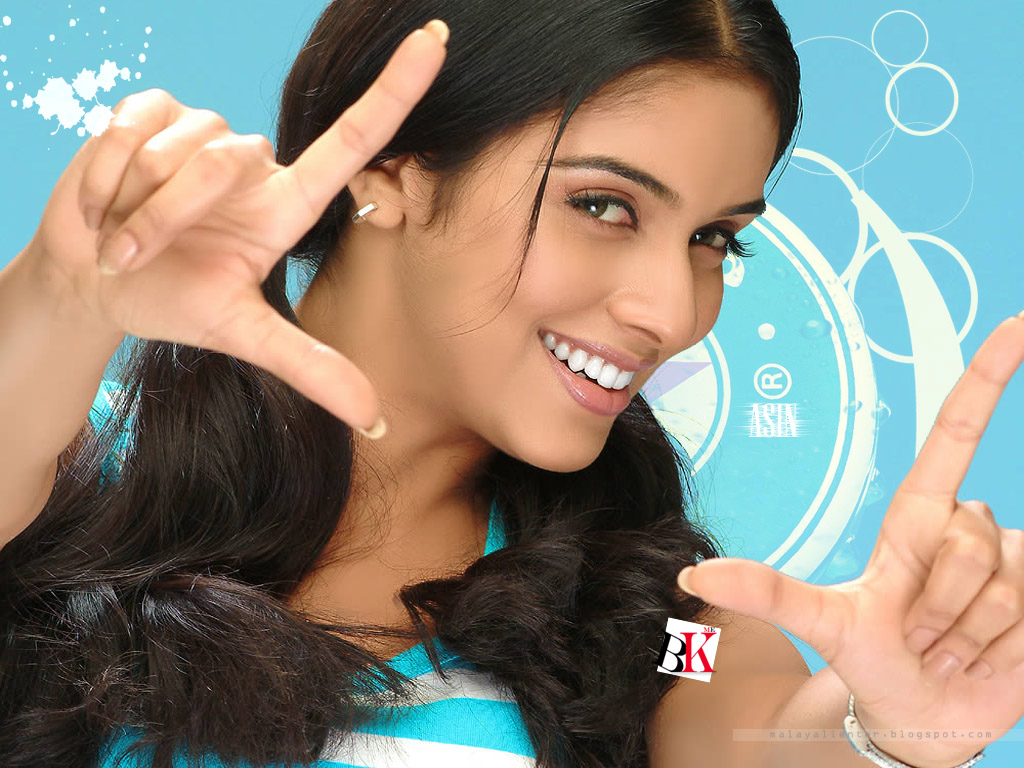 Indian Cinema Gajani Actress Asin Wallpaper