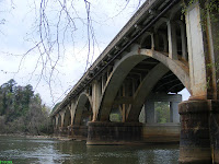 Broad River bridge sight of Civil War battle in Columbia