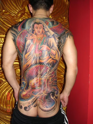 wall painting tattoo design