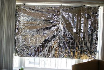 diy – heat blocking curtain | so very grateful