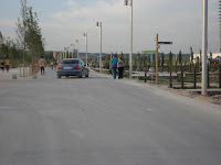 circulación de automóviles en el Parque