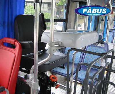imagem do escritório de um cobrador de ônibus - Foto fãbus