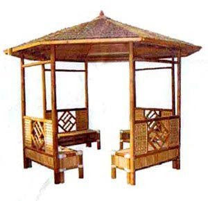 Indonesian Bamboo Gazebo