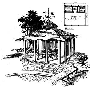 Gazebo Design Sketch