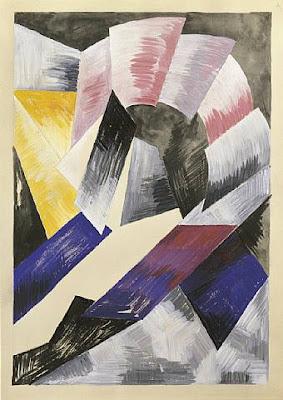 Alexandra Exter, Rússia (1884-1949), Coloured Rhythm 1916-18