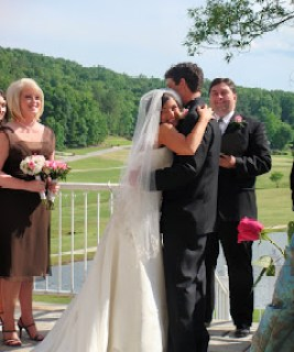 The wedding in pictures