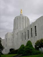 Oregon State Capitol, by Samuel John Klein