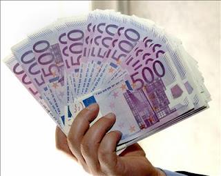 Billetes de quinientos euros