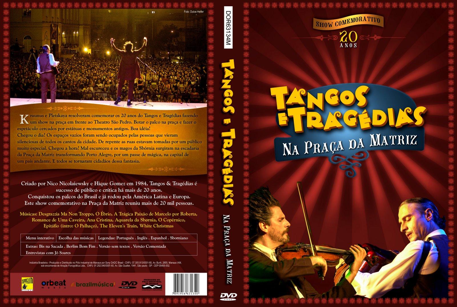 Poster do filme Tangos e Tragédias na Praça da Matriz