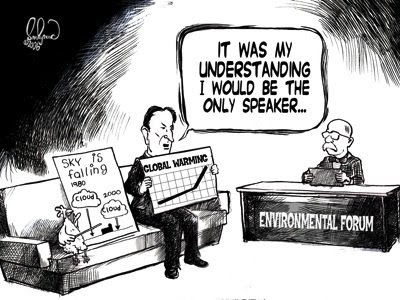 Al Gore the environmental expert