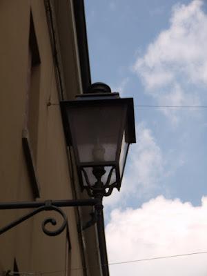 Lampioni d'epoca a Rovigo
