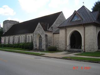 Gordon's Journey: Houston Trip: St. Stephen's Episcopal Church