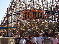 El Toro Roller Coaster - Six Flags Great Adventure