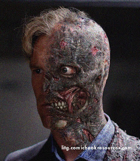 Dark Knight Harvey Dent is Two Face!