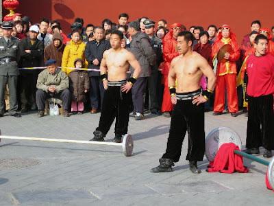 Temple Fair - Strong Men