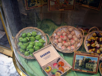 Marzipan fruit