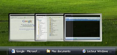 Visual tooltip - Get thumbnail preview of programs running in WinXP