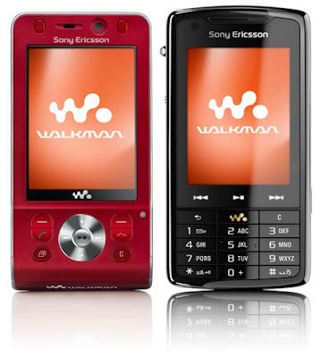 Walkman series phone W910 and W960i