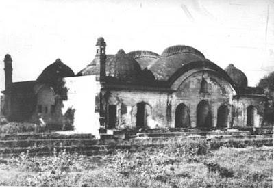 Palace in Barhanpur where Mumtaz died