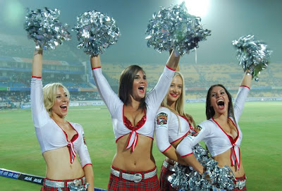 Hyderabad Deccan Chargers Cheerleaders Photos & Pictures