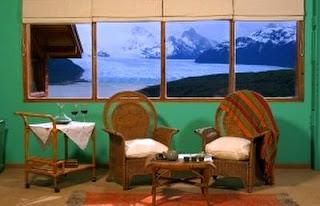 Habitación con vistas al glaciar