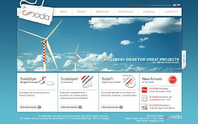 The Soda Studio new Web