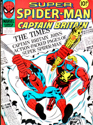 Super Spiderman & Captain Britain