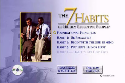 7 Habitos de la gente altamente efectiva – Stephen R. Covey [2DVDs]