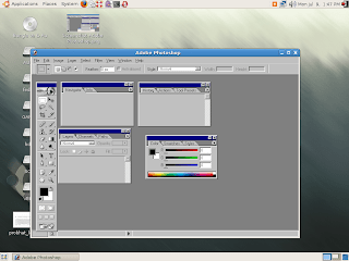 photoshop in Linux !