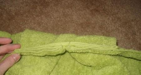 hooded towel tutorial 6
