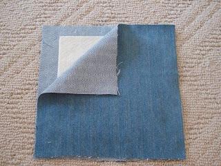 make a rag quilt