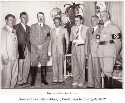 Hitler con Heinrich Harrier