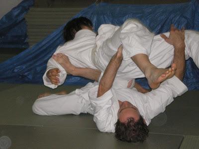 Mark Walsh photo. Freeform aikido