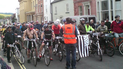 Tour de Presteigne 2008 electric bike rally report 4