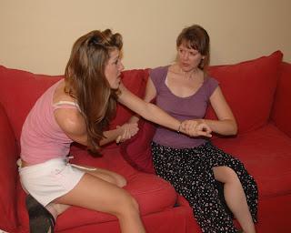 moms spanking with hair brush
