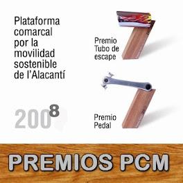 Acto de entrega Premios PCM 2008