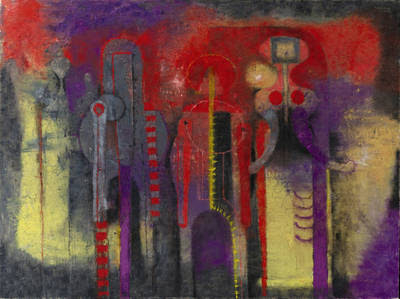 Tamayo, Tres hombres, 1970