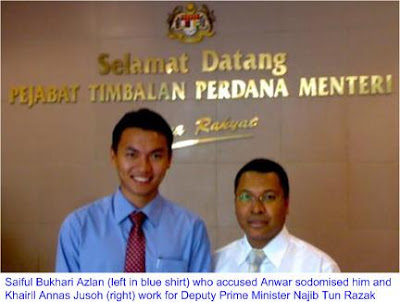 Saiful sodomised by Anwar