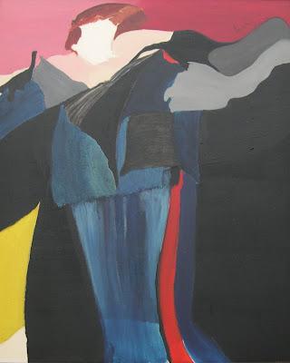 Manuela Imar, Biografia de Luiza Neto Jorge,(92X73), óleo s/tela; Lisboa, 1990.